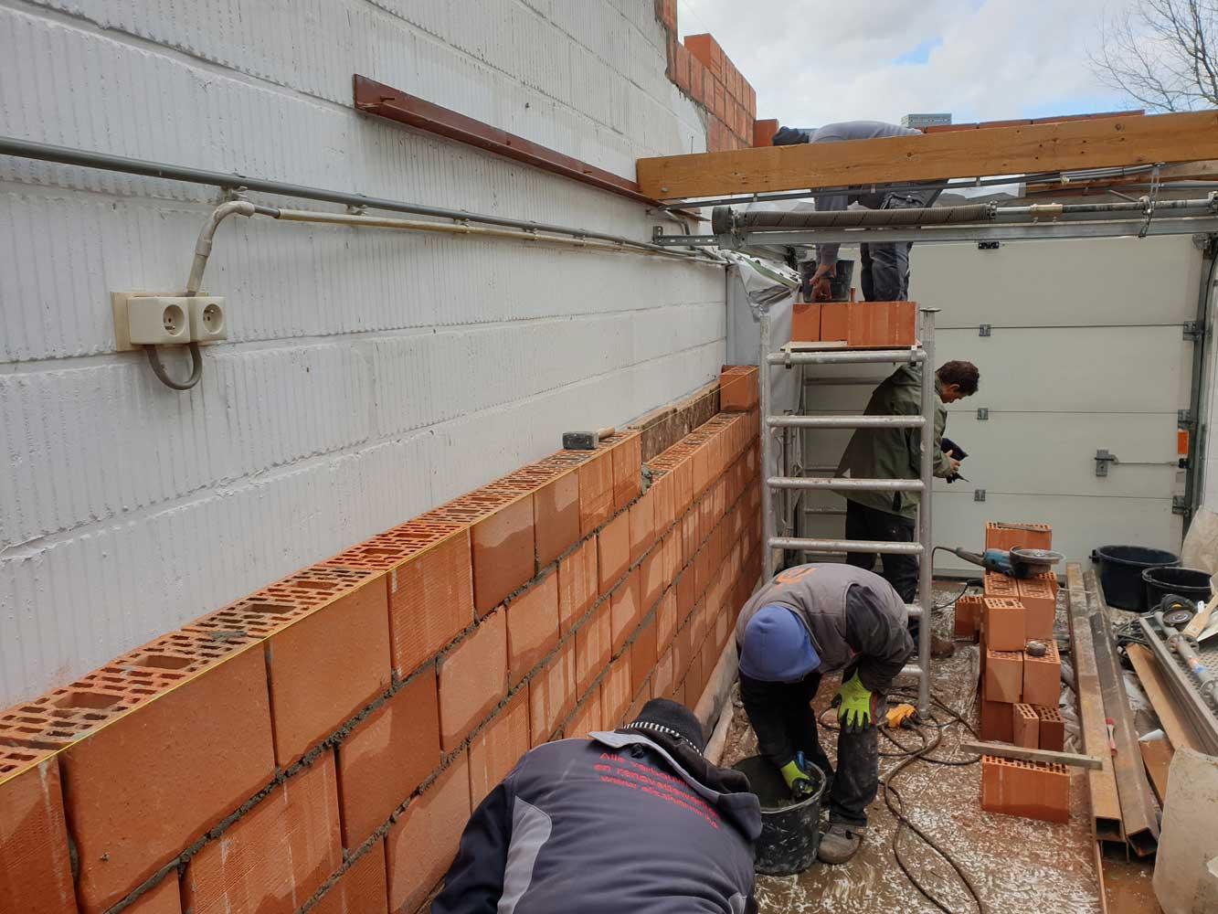 Metselwerken Aannemer verbouwingen en renovaties - Entrepreneur transformations et rénovations
