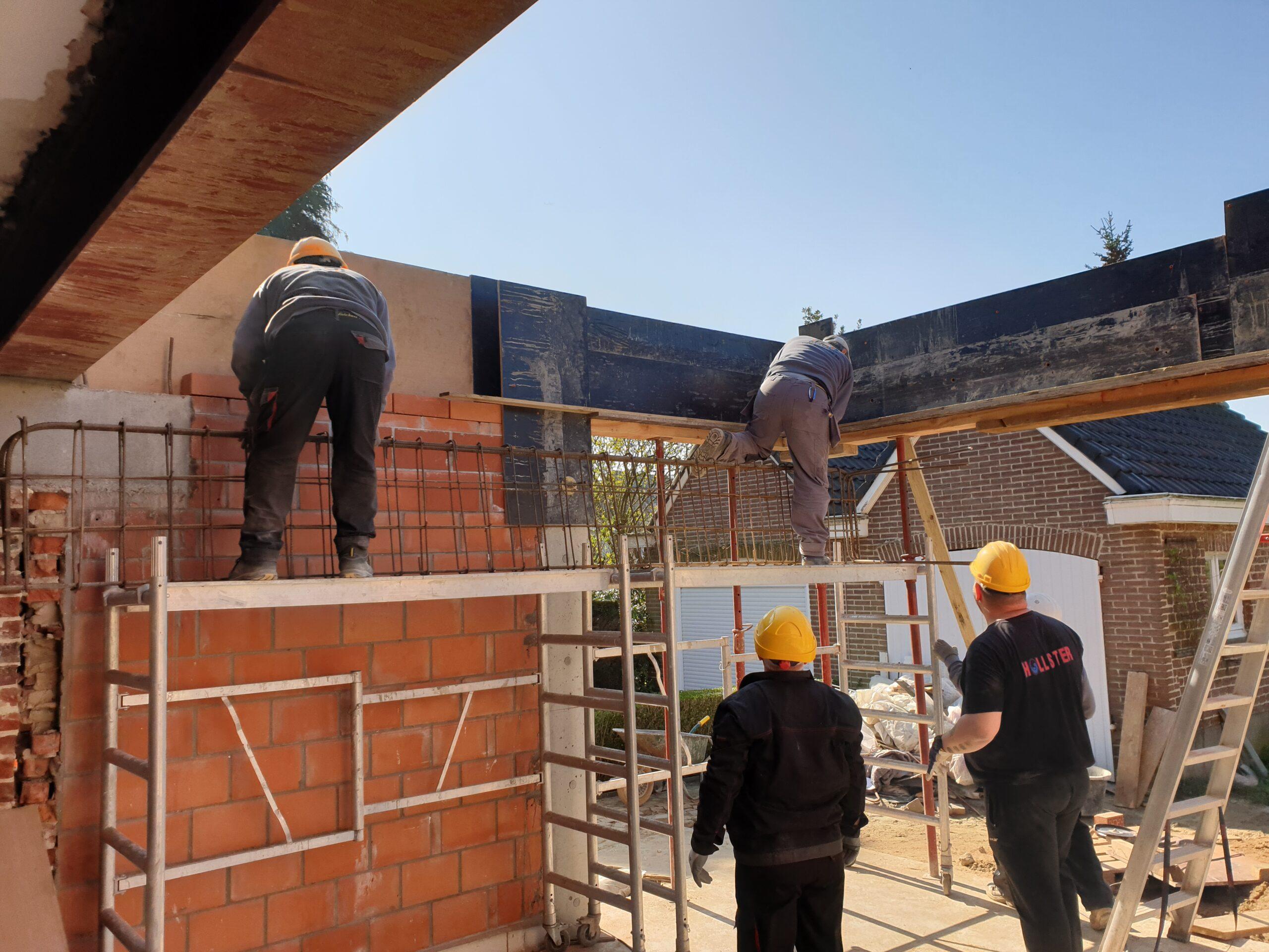 Aanbouw, uitbouw, verbouwing, renovatiewerken - Aannemer verbouwingen en renovaties - Entrepreneur transformations et rénovations