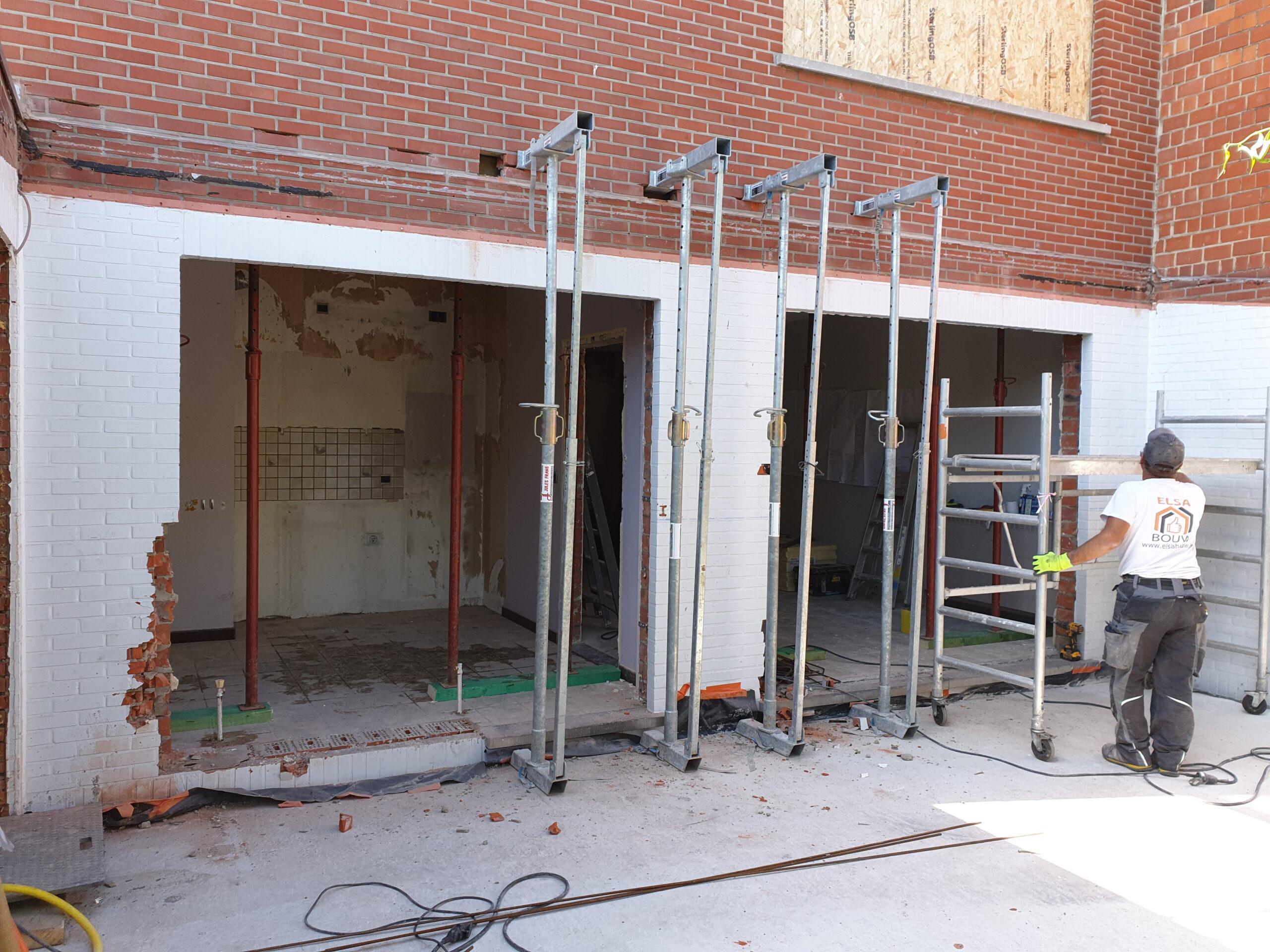 Uitbouw - Aannemer verbouwingen en renovaties - Entrepreneur transformations et rénovations