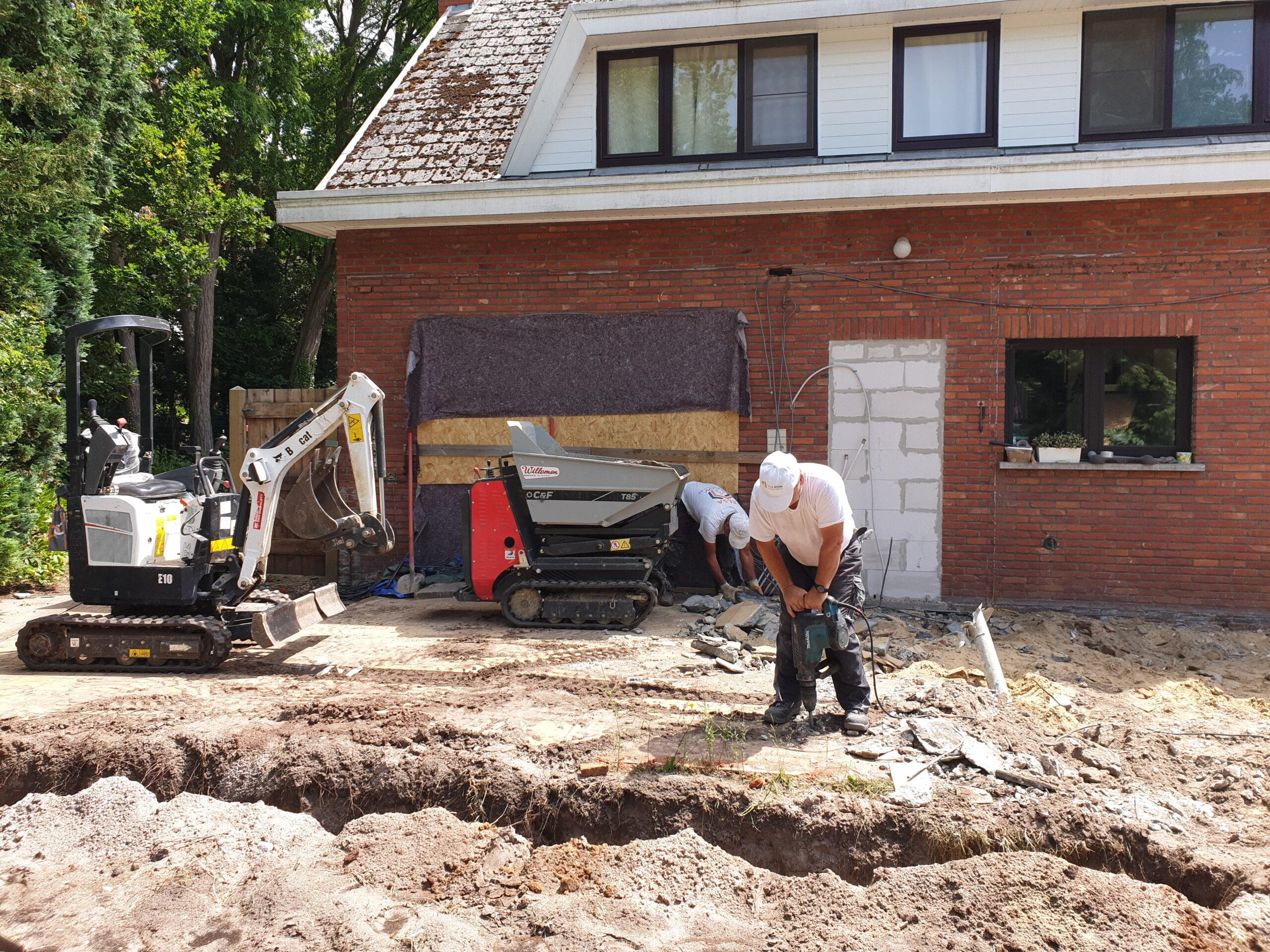 Aanbouw - Aannemer verbouwingen en renovaties - Entrepreneur transformations et rénovations