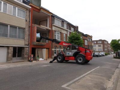 Totaalrenovatie woning Brussel - ELsa Bouw aannemer renovatiewerken